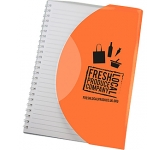 Curve A6 Promotional Notebook  by Gopromotional - we get your brand noticed!