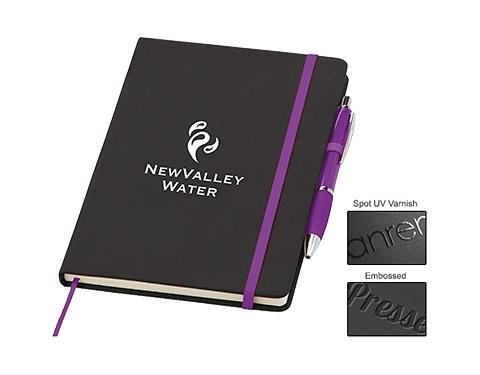 A5 Memphis Notebook & Contour Pen