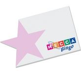 125 x 75mm Star Edge Shaped Sticky Note