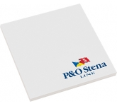 75 x 75mm Sticky Note  by Gopromotional - we get your brand noticed!