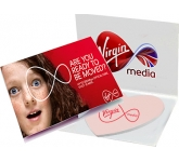 Heart Shaped Covered Sticky Note  by Gopromotional - we get your brand noticed!