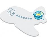 A6 Plane Shaped Sticky Note  by Gopromotional - we get your brand noticed!