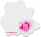 A6 Splat Shaped Sticky Note  by Gopromotional - we get your brand noticed!