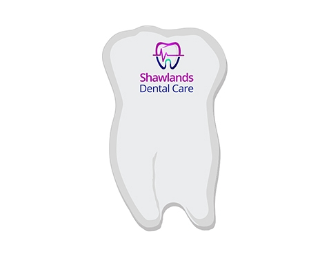 A6 Tooth Shaped Sticky Note