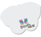 A7 Butterlfy Shaped Sticky Note