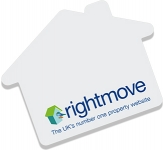 A7 House Shaped Sticky Note  by Gopromotional - we get your brand noticed!