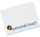 A7 Round Cornered Shaped Sticky Note  by Gopromotional - we get your brand noticed!