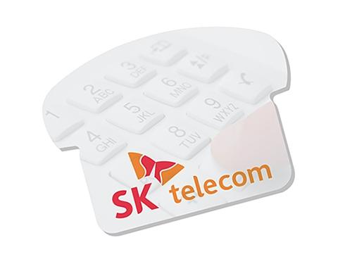 A7 Telephone Shaped Sticky Note