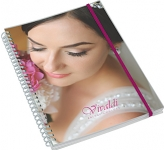 A4 Deluxe Polyprop Wirebound Notepad  by Gopromotional - we get your brand noticed!