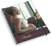 A5 Deluxe Polyprop Wirebound Notepad  by Gopromotional - we get your brand noticed!