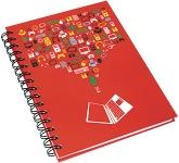 A5 Wirebound Hardback Notepad