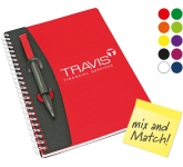 A5 Mix and Match Polyprop Spiral Bound Notebook  by Gopromotional - we get your brand noticed!
