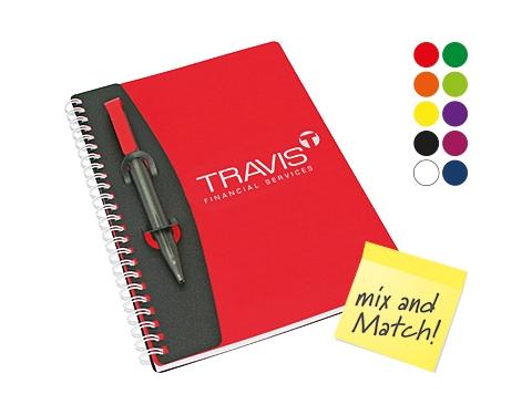 A5 Mix and Match Polyprop Spiral Bound Notebook