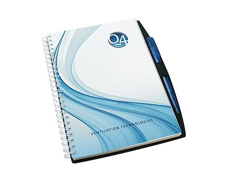 A5 Platinum Polyprop Spiral Bound Notepad