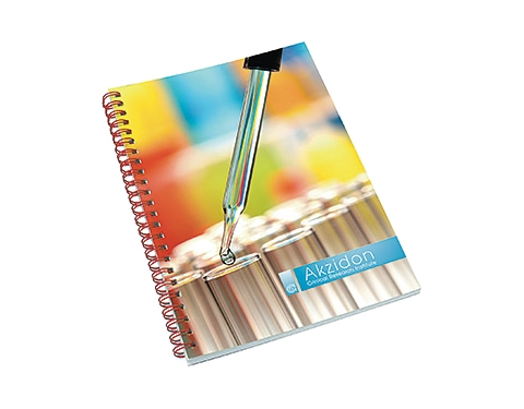 A5 Polyprop Spiral Bound Notepad