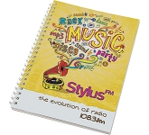 A5 Spiral Bound Notepad  by Gopromotional - we get your brand noticed!