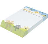 A5 Wedge Notepad  by Gopromotional - we get your brand noticed!