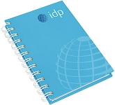 A6 Wirebound Hardback Notepad  by Gopromotional - we get your brand noticed!