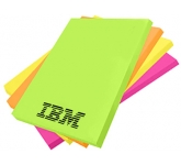 A6 Bright Sticky Note  by Gopromotional - we get your brand noticed!