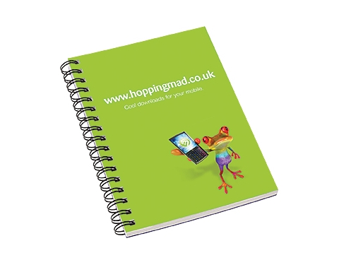 A6 Spiral Bound Corporate Notepad