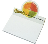 A7 Circular Billboard Sticky Note  by Gopromotional - we get your brand noticed!