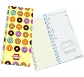 Active Wirebound Polyprop Daily Planner  by Gopromotional - we get your brand noticed!