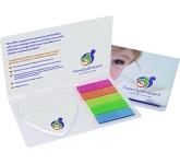 Special Shaped Sticky Note Flag Organiser  by Gopromotional - we get your brand noticed!