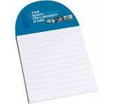 Arch Shaped Magnetic Notepad