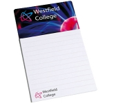 Rectangle Shaped Magnetic Notepad  by Gopromotional - we get your brand noticed!