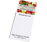 Square Shaped Magnetic Notepad  by Gopromotional - we get your brand noticed!