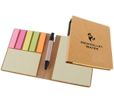 Rushton Sticky Note Flags & Pen Set  by Gopromotional - we get your brand noticed!
