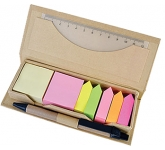 Scribble Page Flags & Sticky Note Desk Set  by Gopromotional - we get your brand noticed!