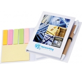 Partner Sticky Note Combi Pad & Flag Set  by Gopromotional - we get your brand noticed!