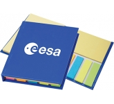 Valencia Glossy Sticky Note Combi Pad & Flag Set  by Gopromotional - we get your brand noticed!