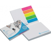 Harvard Soft Cover Sticky Note Set  by Gopromotional - we get your brand noticed!