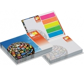 Harvard Hard Cover Sticky Note Set  by Gopromotional - we get your brand noticed!