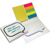 Speech Bubble Combo Sticky Note Set  by Gopromotional - we get your brand noticed!