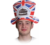 Union Jack Card Shaped Hat