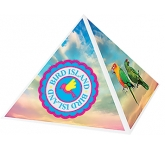 Recycled Paper Clip Pyramid  by Gopromotional - we get your brand noticed!
