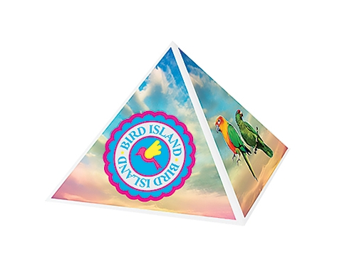 Recycled Paper Clip Pyramid