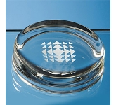 Barlow Small Round Glass Paperweight  by Gopromotional - we get your brand noticed!