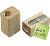 Wooden Pencil Sharpener  by Gopromotional - we get your brand noticed!