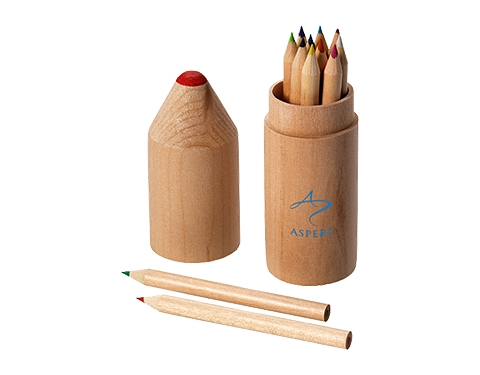 Milan 12 Piece Coloured Pencil Set