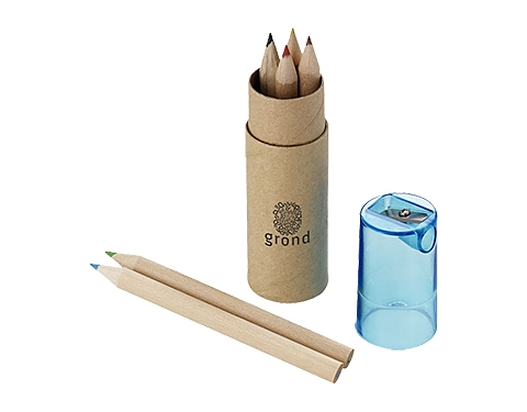 London 6 Piece Coloured Pencil Set