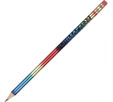 Rainbow Pencil  by Gopromotional - we get your brand noticed!