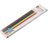 Carnival Six Pack Colouring Pencil  by Gopromotional - we get your brand noticed!