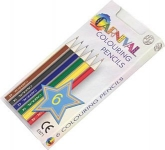 Carnival Twelve Pack Of Mini Colouring Pencils