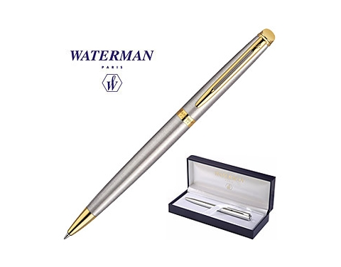 Waterman Hemisphere Stainless Steel Pen