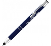 Electra Classic Corporate Soft Touch Metal Pen  by Gopromotional - we get your brand noticed!