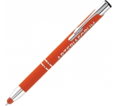 Electra Classic Soft Touch Metal Pen  by Gopromotional - we get your brand noticed!